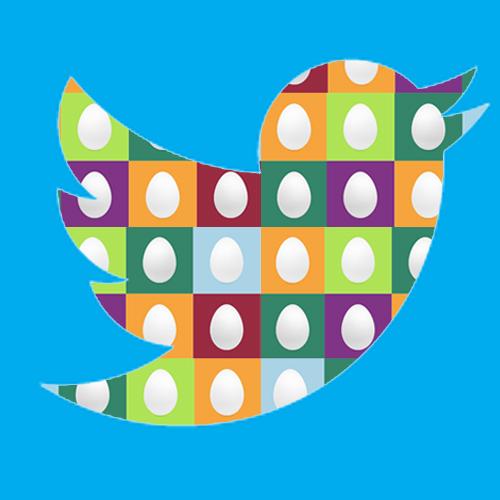 ¡Qué huevos tiene Twitter!  ;)