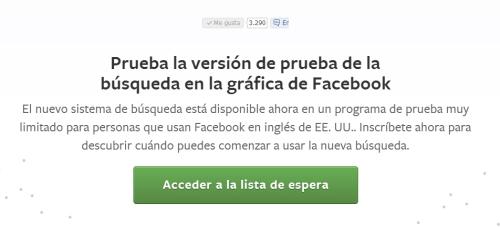 version beta facebook graph search