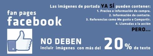 normas cabecera facebook