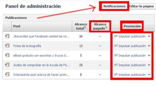 cambios administracion fan pages