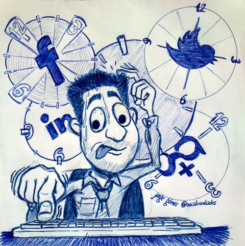 cuando publicar redes sociales - @socialmediados
