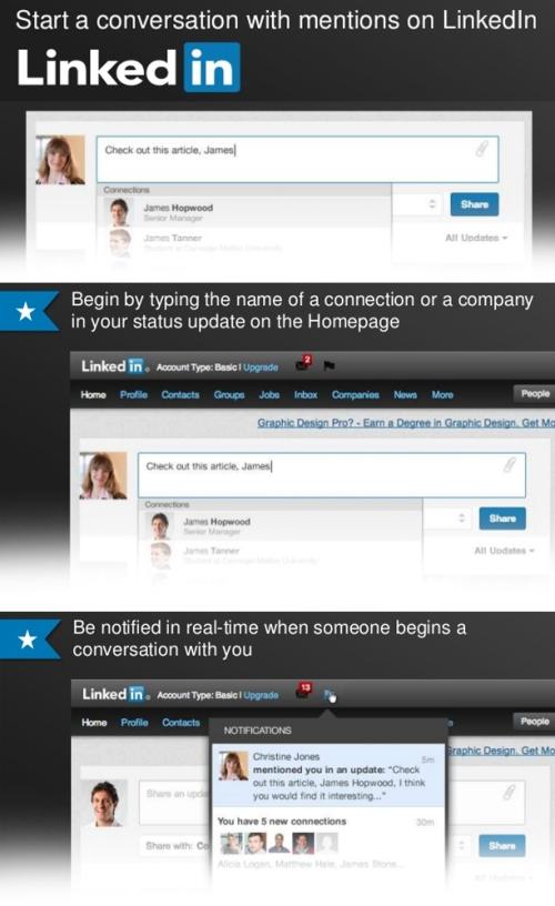 Presentación oficial en Linkedin