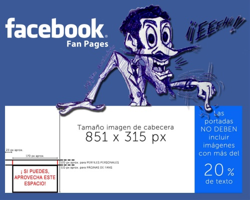 normas cabecera fan pages