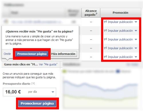 promociones facebook