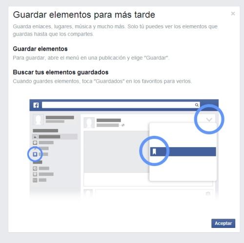 guardar post facebook